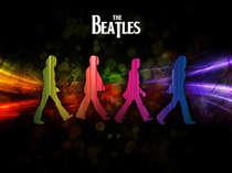 Placa Decorativa de Metal 30x40cm - Beatles - LANÇAMENTO