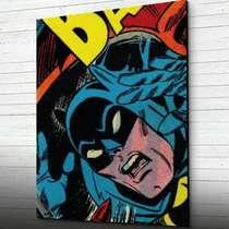 Placa em MDF - Batman 44x62 cm