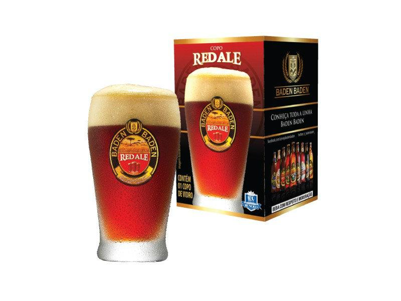 Copo Cerveja Baden Baden Red Ale 410 ml