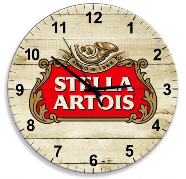 Rel 243 Gio Em Mdf Stella Artois 28 Cm De Di 226 Metro