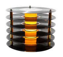 Abajur Torre Vinil 28 cm