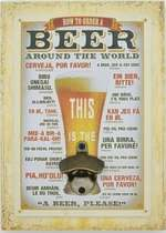 Abridor de Garrafa - Beer Around the World