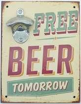 Abridor de Garrafa - Free Beer Tomorrow