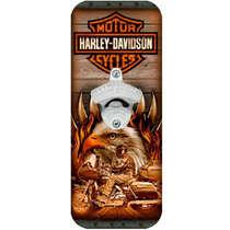 Abridor de Garrafas - Harley Davidson Águia
