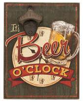 Abridor de garrafa - It´s Beer o´clock
