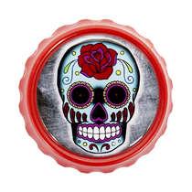 Abridor de garrafa com imã - Caveira Mexicana