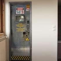 Adesivo para porta - Laboratório