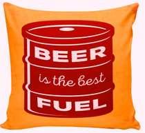 Almofada Beer Fuel  - 40x40cm - Almofada + Capa