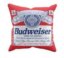 Almofada Budweiser - 45x45cm - Almofada + Capa