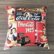 Almofada Cola Vintage Linha Coisas de Boteco - Capa + Almofada 40x40