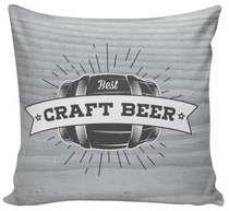 Almofada Craft Beer - 40x40cm -  Almofada + Capa