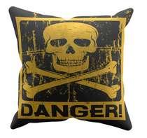 Almofada Danger -  45x45cm - Almofada + Capa