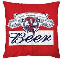 Almofada Just Beer 45x45cm - Almofada + Capa