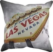 Almofada Las Vegas - 45x45cm - Almofada + Capa