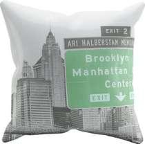 Almofada Manhattan Center- 45x45cm - Almofada + Capa