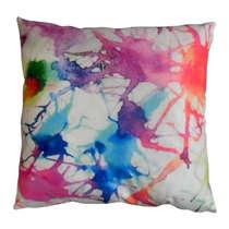 Capa Almofada Smashed Colors 45x45cm - Almofada + Capa
