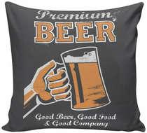 Almofada Premium Beer - 40x40cm - Almofada + Capa