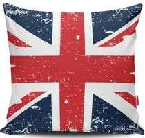 Almofada Reino Unido - 40x40cm -  Almofada + Capa