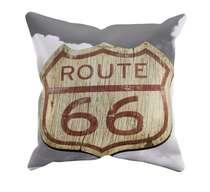 Almofada Route 66 - 45x45cm - Almofada + Capa