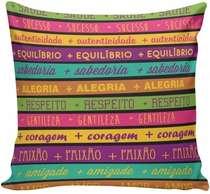 Almofada Senhor do Bonfim  - 40x40cm -  Almofada + Capa