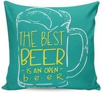Almofada The Best Beer - 40x40cm - Almofada + Capa