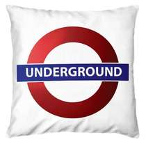 Almofada Underground 45x45cm - Almofada + Capa