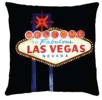 Almofada Welcome to Vegas 45x45cm - Almofada + Capa