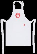 Avental Branco com Vermelho - MasterChef
