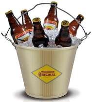 Balde para cerveja Antarctica Original Retrô