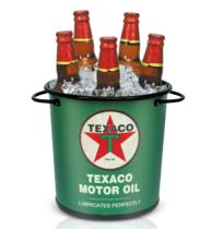 Balde para cerveja Texaco Retrô