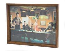 Bandeja Artesanal com impressão digital - Snooker
