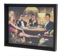 Bandeja Decoratival com impressão digital - Star`s Poker