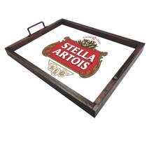 Bandeja Decorativa de Azulejos - Stella Artois - 43 x 33 cm