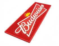 Base para copo - Budweiser - Vermelha