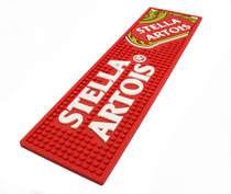 Base para copo - Stella Artois - Vermelha