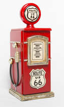 Bomba Gasolina Vintage  - 48 cm (A) Route 66