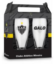 Conjunto 2 Copos Cerveja - Atlético Mineiro Oficial - Munich 200 ml