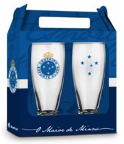 Conjunto 2 Copos Cerveja - Cruzeiro Oficial - Munich 200 ml