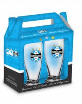 Conjunto 2 Copos Cerveja - Grêmio Oficial - Munich 200 ml