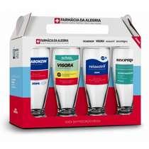 Conjunto 4 Copos - Divertidos Remédios II - Munich 200 ml