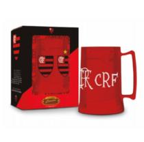 Caneca Cerveja Gel Congelante - Flamengo 450ml - Oficial