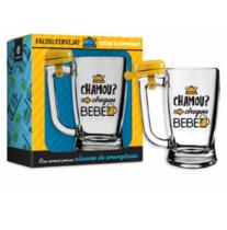 Caneca Cerveja Taberna Campainha - Chamou 340 ml