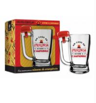 Caneca Cerveja Taberna Campainha - Emergência 340 ml