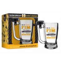 Caneca Cerveja Taberna Campainha - É o Fim 340 ml
