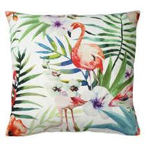 Capa de Almofada Flamingo  45x45cm