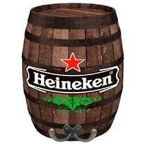 Cabideiro Barril em MDF - Heineken