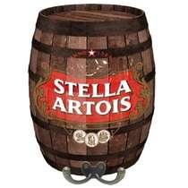 Cabideiro Barril em MDF - Stella Artois