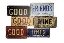 Cabideiro em MDF 3 ganchos - Good Friends