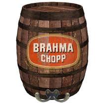 Cabideiro em MDF Brahma Chopp