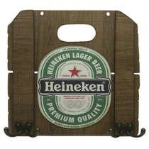 Cabideiro em MDF Heineken